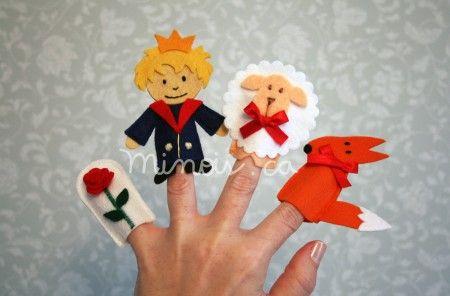 Minois - finger puppets