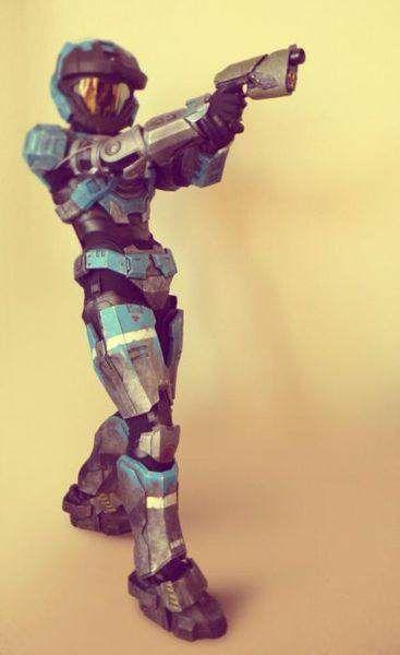 Como fazer a armadura do HALO
