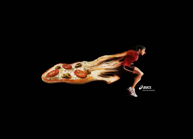 Asics: Pizza
