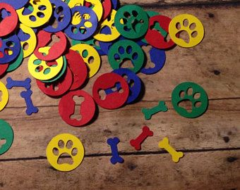 Paw Patrol Birthday, Paw Patrol Confetti, Birthday Confetti, Paw Patrol Birthday Decorations, Paw Patrol, Birthday Decorations, Confetti