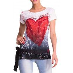 Desigual Camiseta Nadine