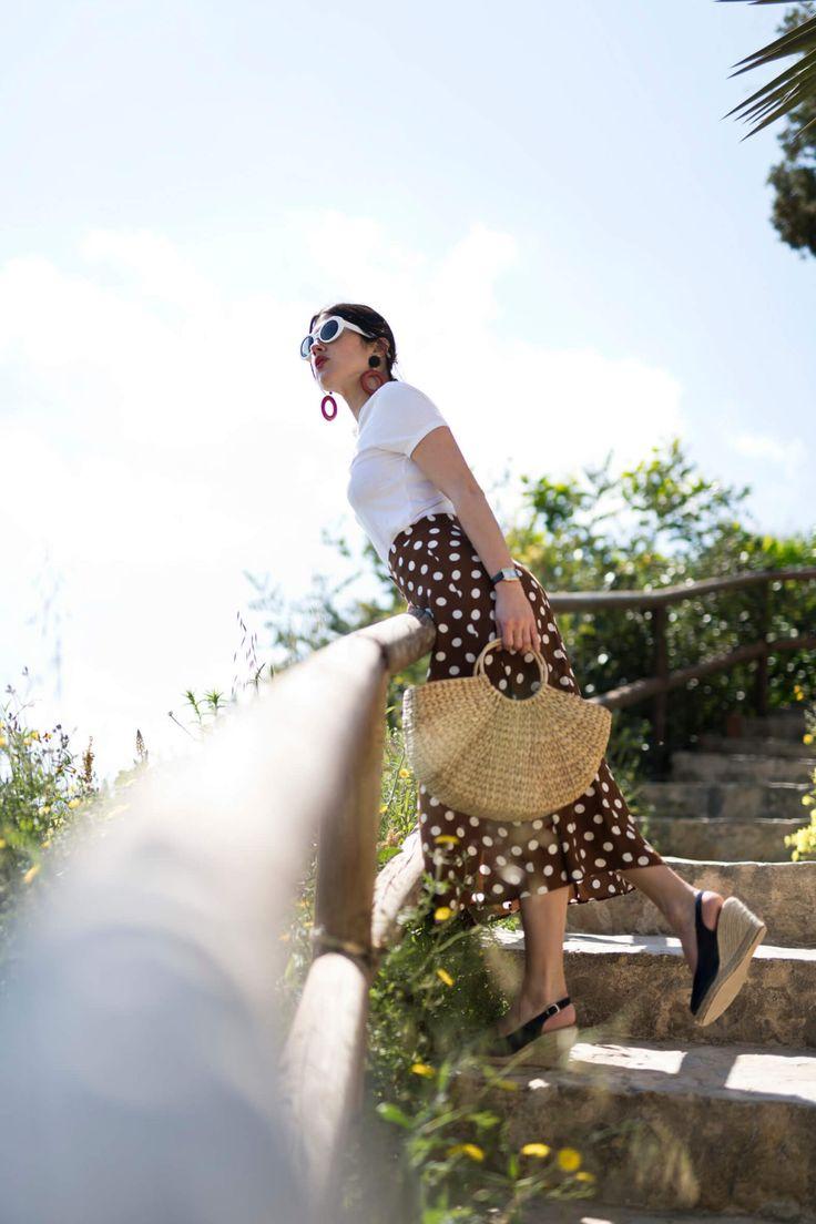 la jupe midi inspiration comment porter une jupe midi look de printemps l'atelier d'al blog mode lifestyle