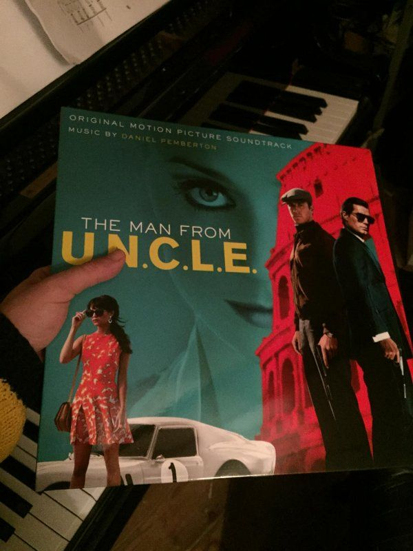 Beautiful gatefold 180gm 2xLP of #ManFromUNCLE arrived today from @MusicOnVinyl and @Watertowermusic.. NICE!!