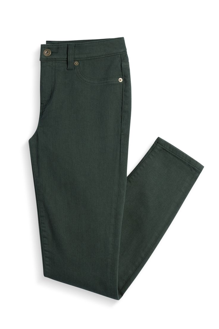 Stitch Fix Fall Styles: Dark Green Skinny Jeans