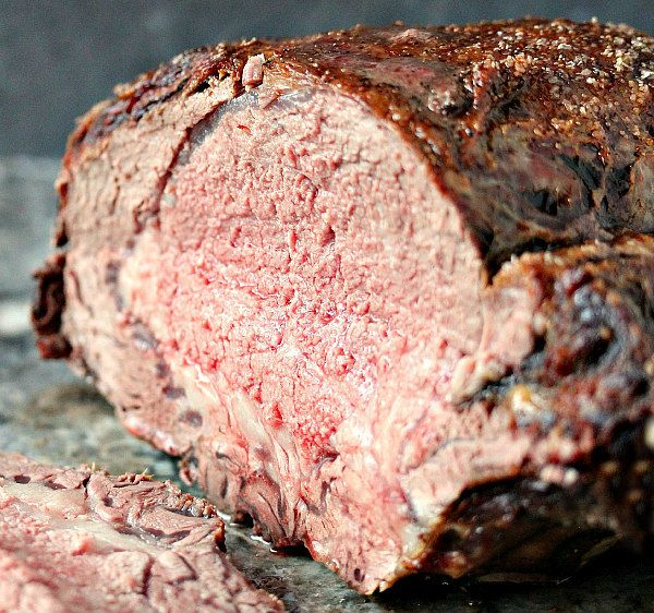 A delicious and elegant recipe for Prime Rib Roast with Red Wine Au Jus.