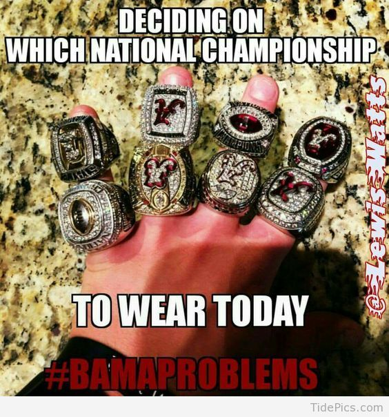 #BamaProblems - Alabama Crimson Tide Pictures | TidePics.com