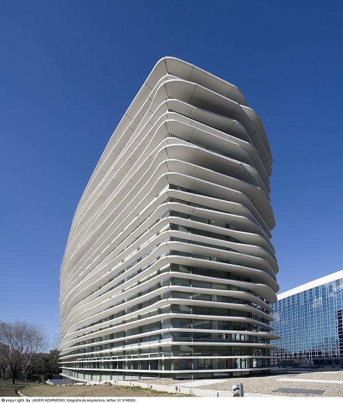 Oficinas en M-30.Junquera arquitectos.
