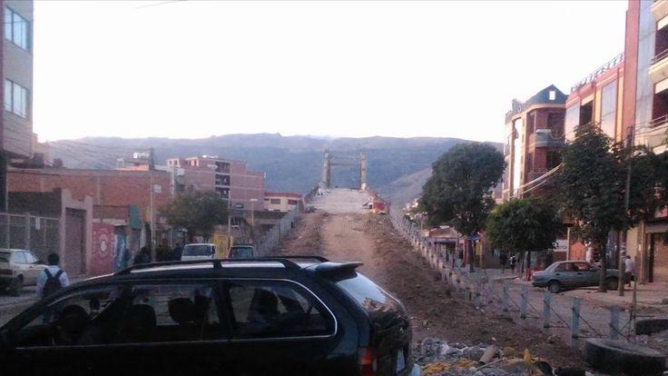 Proyecto Distribuidor 6 de Agosto y Republica ABRIL-2016 Cochabamba-Bolivia