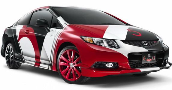 Honda Civic Si Coupe by Maroon 5