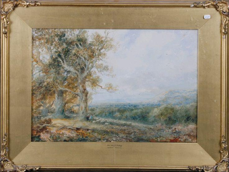 Albert Pollitt - Clwyr Valley. 1919