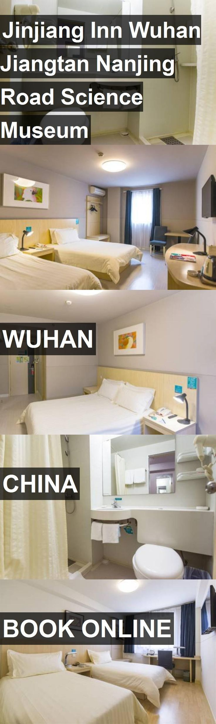 Hotel Jinjiang Inn Wuhan Jiangtan Nanjing Road Science Museum in Wuhan, China. For more information, photos, reviews and best prices please follow the link. #China #Wuhan #JinjiangInnWuhanJiangtanNanjingRoadScienceMuseum #hotel #travel #vacation