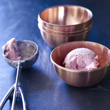 Luna Copper Ice Cream Bowls