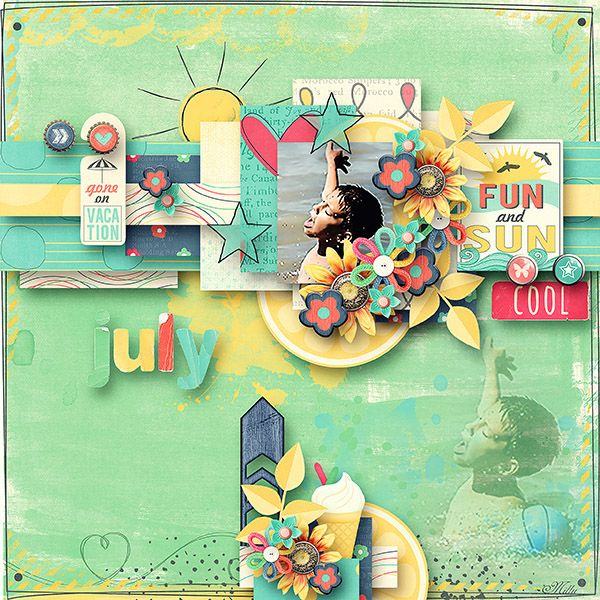 Capturing life: July Designs by Blagovesta template june freebie by Tinci Designs