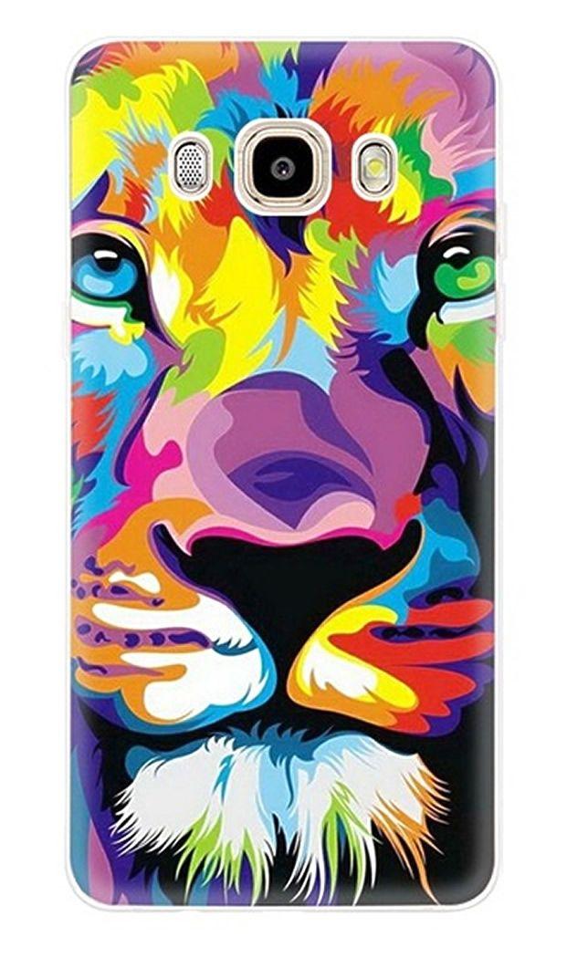 6,95 € Case Galaxy S multicolor lion head M01 - Coque Samsung ...