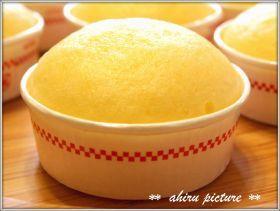 「ふわふわ優しいタマゴ蒸しパン♪」。。。ahiru | お菓子・パンのレシピや作り方【corecle*コレクル】