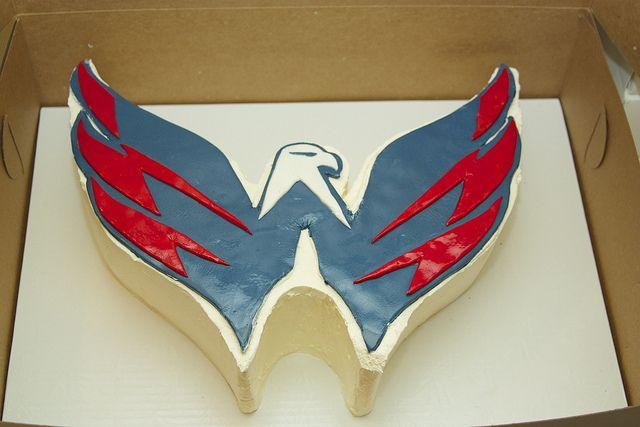 Washington Capitals cake