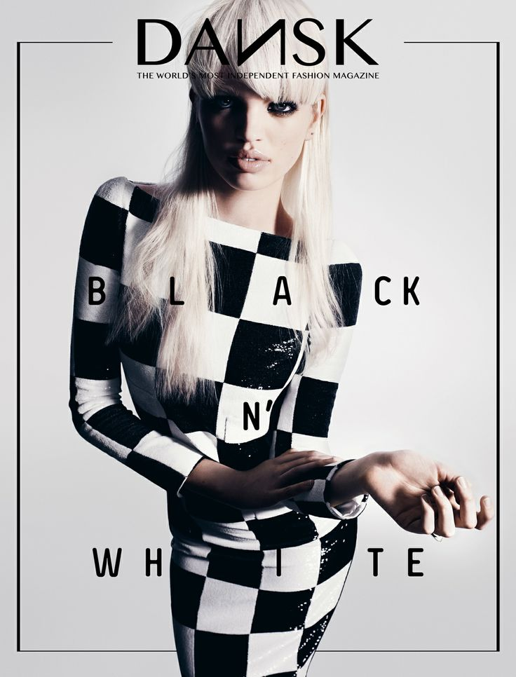 DANSK 29 - BLACK N' WHITE  edition #29  s/s 2013