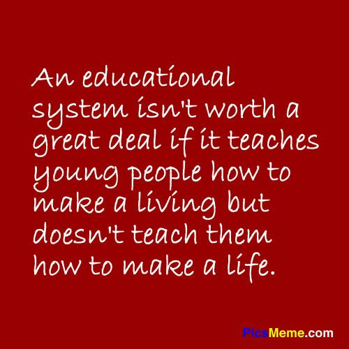 education system funny quotes