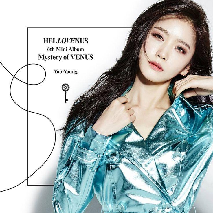 Mystery of Venus, Hello Venus, comeback, jacket image
