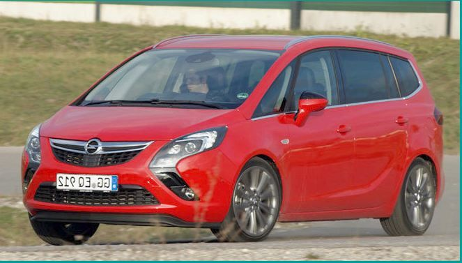 With The New Zafira Opel Is Revising Its Ambitions On The Rise Elegant Sophisticated And Much Larger The Compact Mpv Claims Premium A Car News Car
