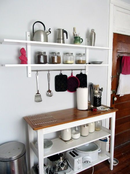 New Kitchen Wall Shelf   Flickr - Photo Sharing!