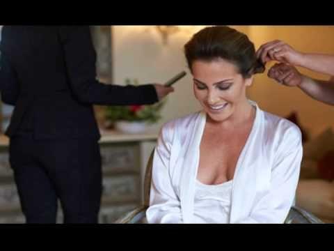 Wedding Hairstyle Italy,Tuscany,wedding Make up. - YouTube
