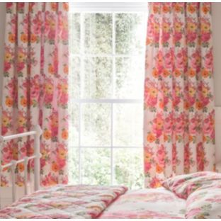 Buy Izzy Pencil Pleat Lined Curtains 168x183cm - Multicoloured at Argos.co.uk - Your Online Shop for Curtains. £35
