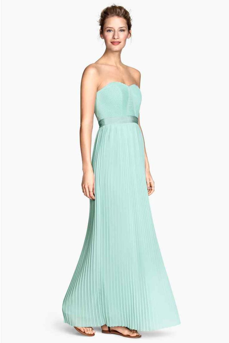 Vestido cai-cai comprido | H&M