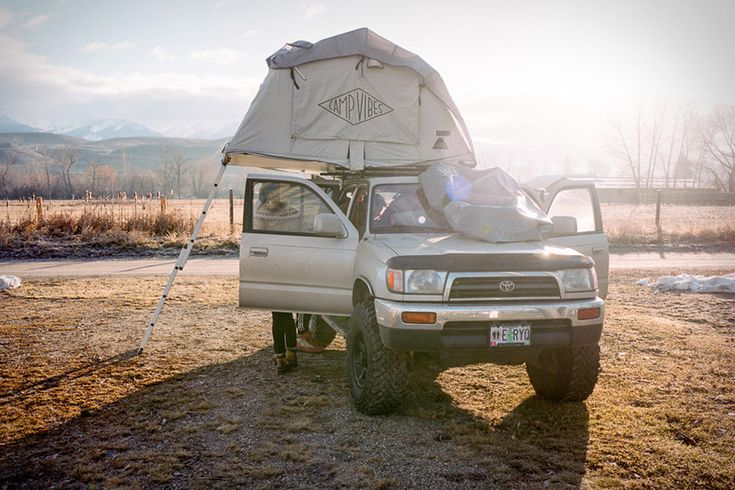 Poler LeTent Rooftop Tent Have an SUV, a van, or some other vehicle with roof-mounted Thule or Yakima bars and a hearty weight limit? Then ...