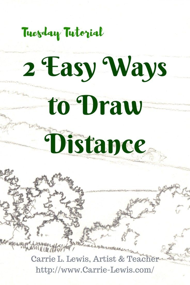 2 Easy Ways to Draw Distance