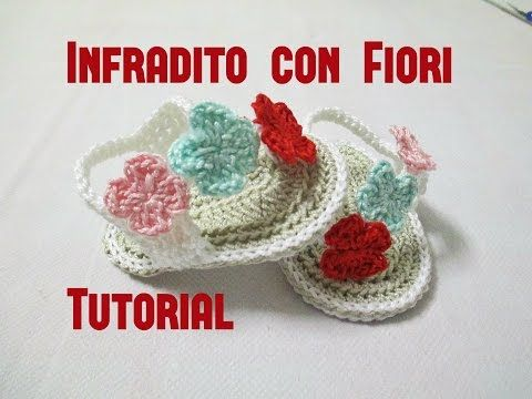 Scarpette sandali per bimba realizzate a uncinetto, belle e particolari. Creazione di - Creation of: Coccinellecreative© Blog: http://coccinellecreative.blog...