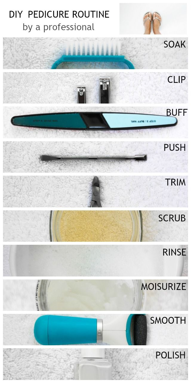 Step by Step Professional Pedicure Instructions..saves a ton of money.