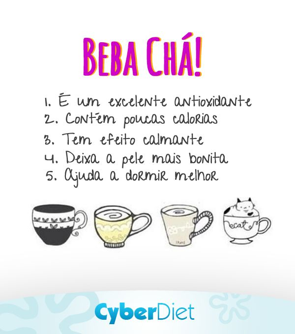 Beba chá e fique mais saudável http://maisequilibrio.com.br/nutricao/chas-2-1-1-470.html