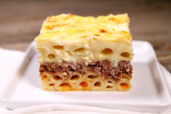 Sharing a traditional recipe for Pastitsio (Greek Lasagna) - an authentic Greek recipe shared from a Greek family. Great recipe for a Greek dinner party!