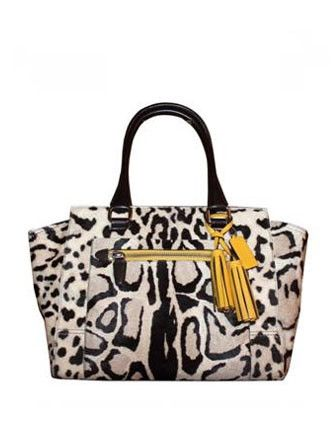 Coach Legacy Ocelot Haircalf Candice Carryall