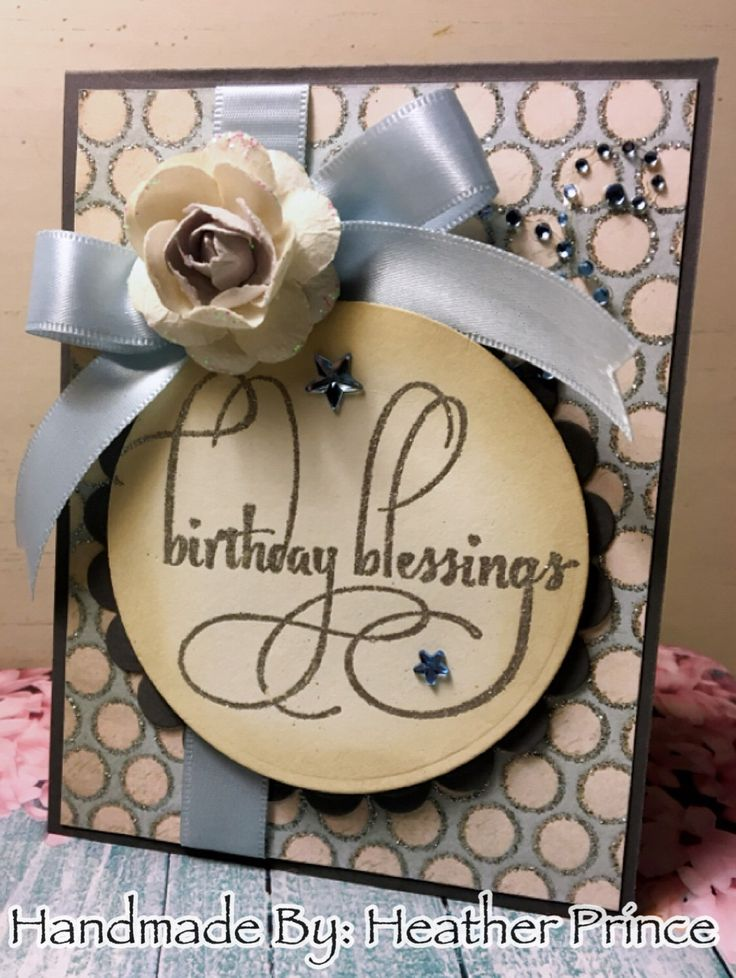 Glittery Birthday Blessings by RoyalGreetings on Etsy https://www.etsy.com/listing/493356483/glittery-birthday-blessings