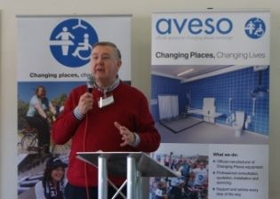 The very first #ChangingPlaces Conference #CPConf15 organised by Aveso (Astor-Bannerman & OpeMed) took place on Feb 21st 2015 at Chesterfield FC. It was an informative day with respected guest speakers including Accessible Derbyshire, The Joshua Wilson Brain Tumour Charity, Visits Unlimited, Euan's Guide, Hop, Skip & Jump and Aveso. Families shared personal stories and the day saw workshops and quizzes and celebrations of campaigners and venues who have embraced Changing Places…