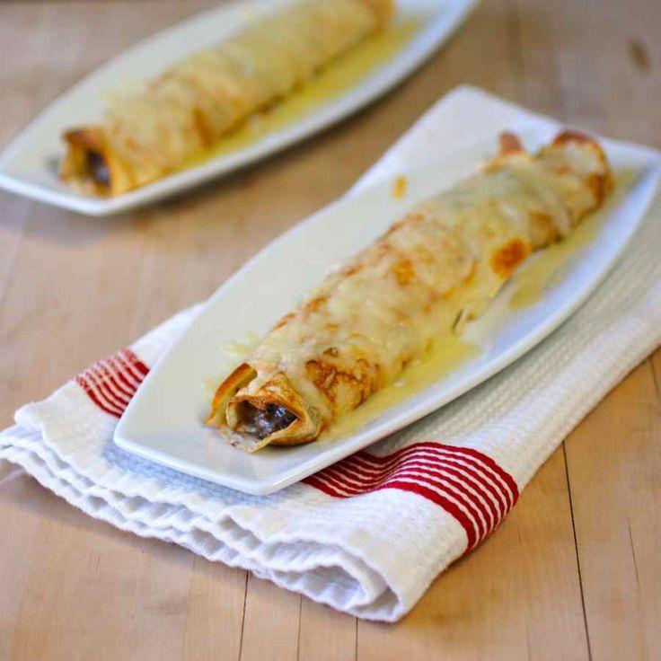 Découvrez la recette de la ficelle picarde traditionnelle, une crêpe gratinée fourrée de duxelles (champignons) et crème fraîche.