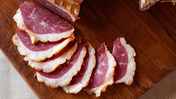 "smoked goose breast recipe - ""If you have a smoker, I urge you to try this. If not, this might be reason enough to buy one. Of all the charcuterie recipes I have on this site, this is right up there at the top. It is relevatory. I promise."""