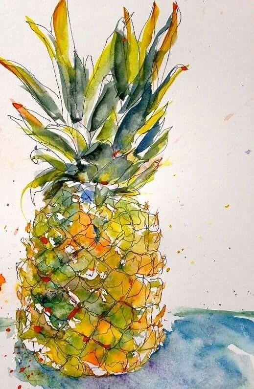 Ann Synarski - pineapple