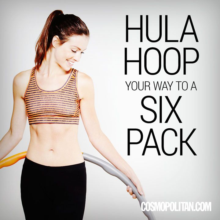 Hula hoop your way to a six pack
