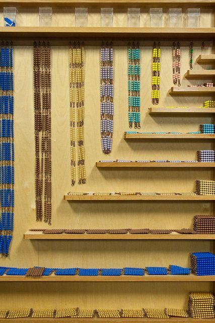 Montessori Bead Cabinet