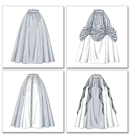 Renaissance skirts for future costume.