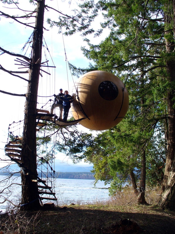 Tree Houses From Free Spirit Spheres Are A Magical Forest Experience