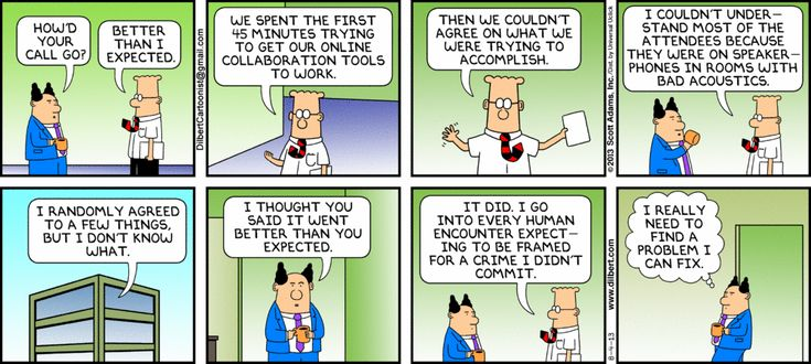 #dilbert #august #strip #your #call #the