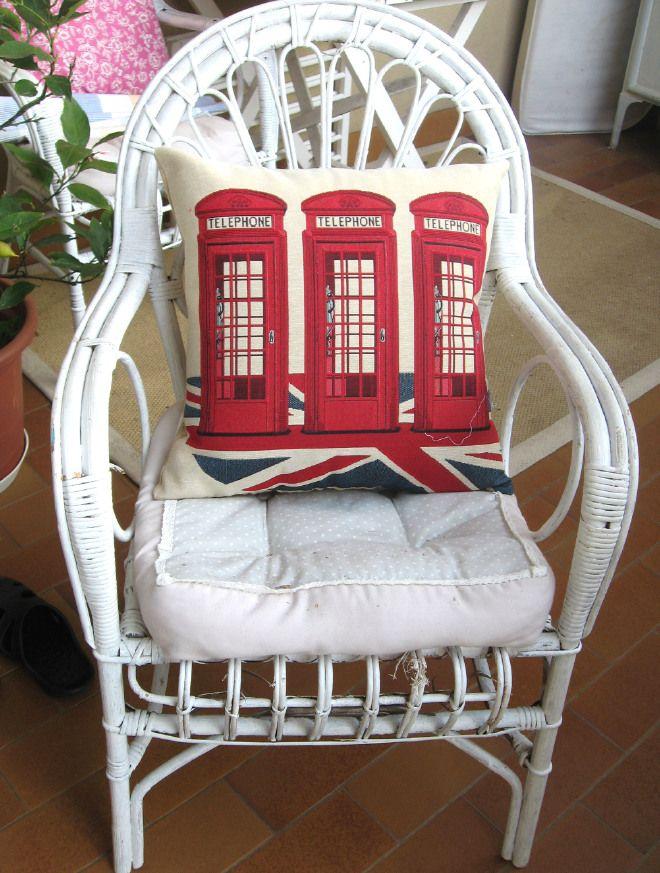 Cuscino cabine telefoniche UK