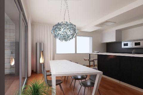 Villa unifamiliare - Rendering cucina - Maria Teresa Azzola Designer - Gorlago (BG) 2010-2012
