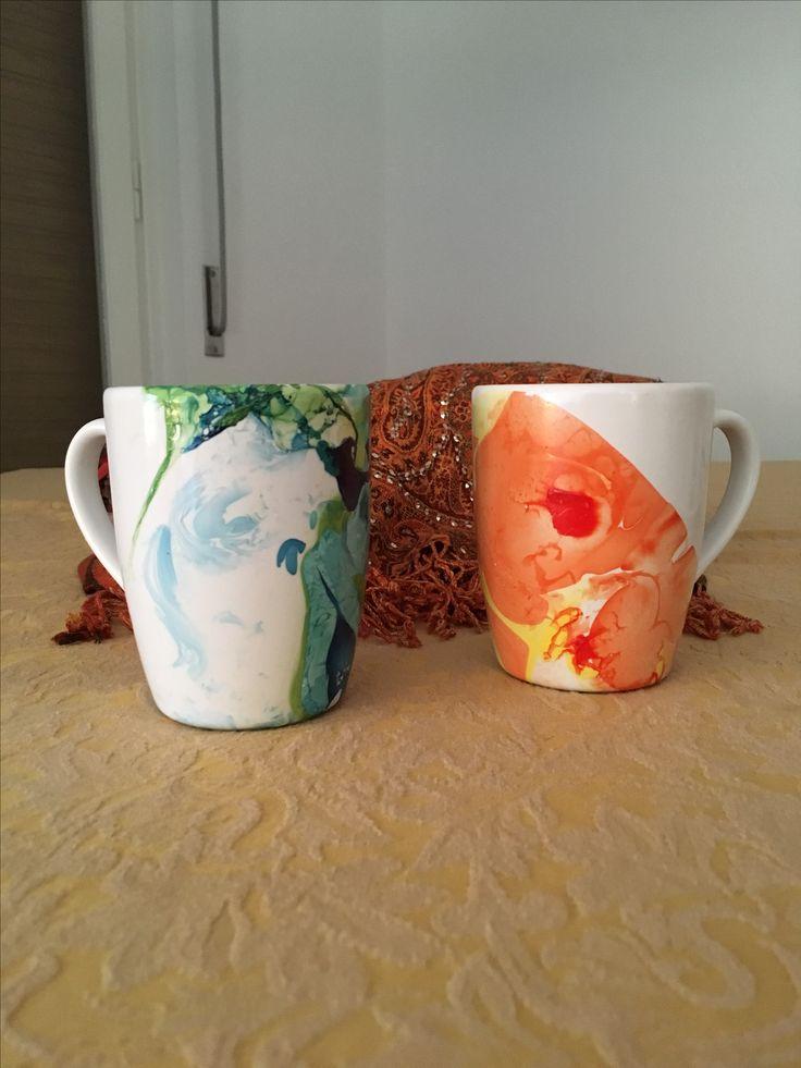 DIY nail polish mugs by elisa