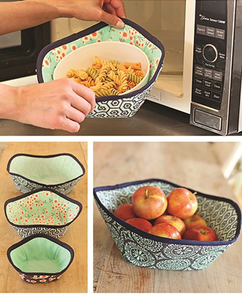 Keep your fingers safe from hot microwaved food. You'll never burn your fingers again on a piping hot bowl from the microwave when you use these hand holde
