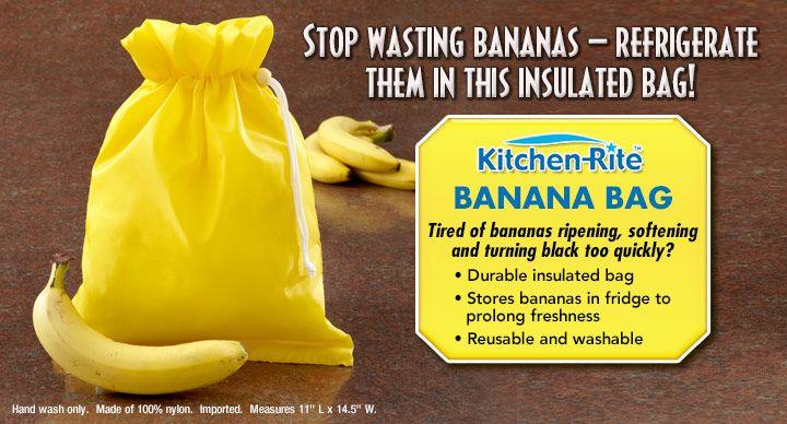kitchen rite banana bag pch price insulated bag. Black Bedroom Furniture Sets. Home Design Ideas